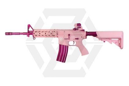 *Clearance* G&G Combat Machine AEG with Blowback FF15-L Pink Storm © Copyright Zero One Airsoft