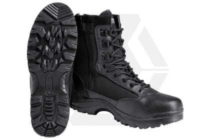 Mil-Com Recon Side Zip Boot (Black) - Size 11