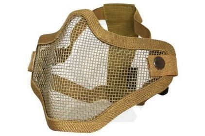 Viper Cross Steel Mesh Mask (Coyote Tan)