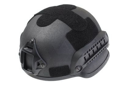 MFH ABS MICH 2002 Helmet (Black) © Copyright Zero One Airsoft