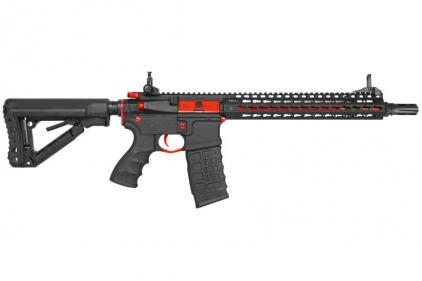 G&G Combat Machine AEG CM16 SR-XL with ETU (Black/Red)