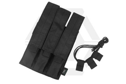 TMC MOLLE Triple Mag Pouch for SMG (Black) © Copyright Zero One Airsoft