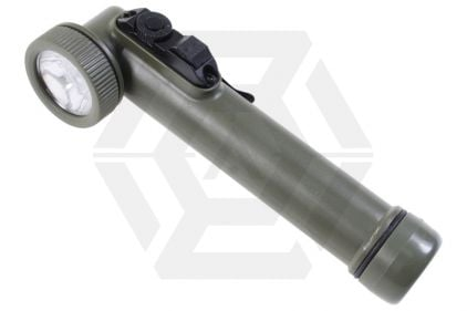 Web-Tex LED Angle Torch & Flashlight with Batteries