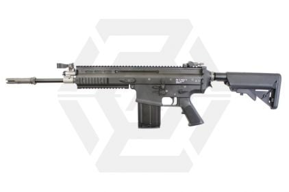WE GBB SCAR-H with Crane Stock (Black)