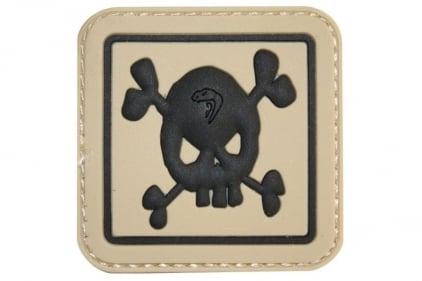 """Viper Velcro PVC Morale Patch """"Skull"""""""