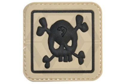 "Viper Velcro PVC Patch ""Skull"""