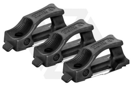 MagPul PTS Ranger Plate for 300rds M4 Magazine Pack of 3 (Black)