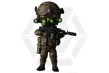 "Figure Base Trickyman 5"" Seal Team 6 Gunner Action Figure"
