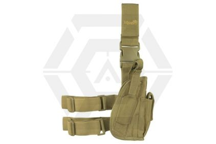 Viper Pistol Drop Leg Holster (Coyote Tan) © Copyright Zero One Airsoft