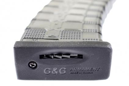 G&G AEG Mag for AK RK74 430rds (Dark Tinted)