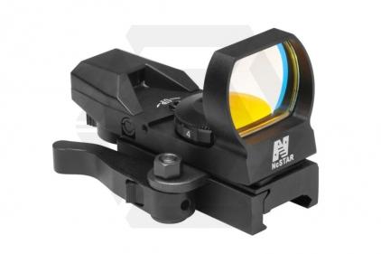 NCS Multi Reticule Green Illuminating Reflex Sight with QR Mount