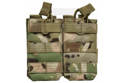 Viper MOLLE Quick Release Double Mag Pouch (MultiCam) © Copyright Zero One Airsoft