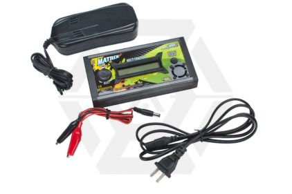 BOL Matrix Li-ion/LiPo/LiFe/NiMH/NiCD Charger © Copyright Zero One Airsoft