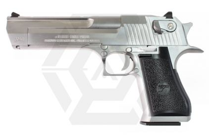 WE/Cybergun GBB Desert Eagle .50AE (Silver) © Copyright Zero One Airsoft