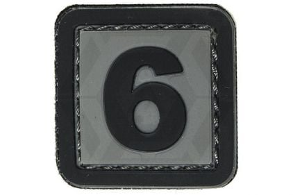 "VOS PVC Velcro Patch ""6"""