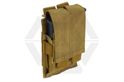 5.11 MOLLE Pistol Double Mag Pouch (Dark Earth)