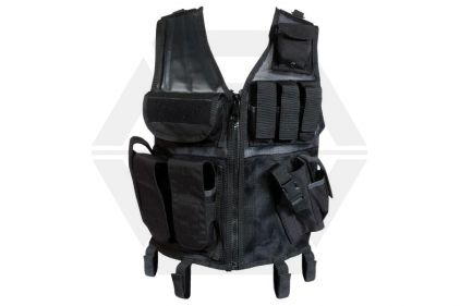 Web-Tex Cross Draw Vest (Black)