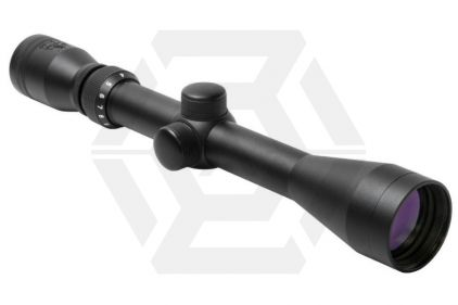 NCS 3-9x40 Scope with P4 Sniper Reticule & 20mm Mount Rings © Copyright Zero One Airsoft