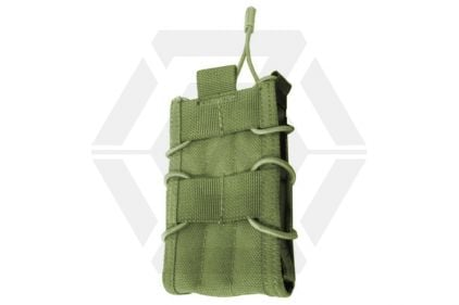 TMC MOLLE Quick Release Single Mag Pouch (Olive) © Copyright Zero One Airsoft