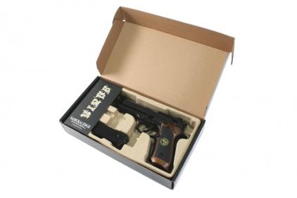 WE GBB M92 BioHazard with Semi & Full Auto