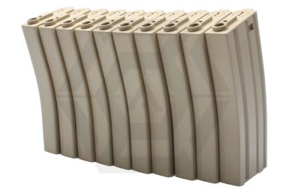Ares Mid-Cap, M16, 85rd (Box of 10) (Tan)