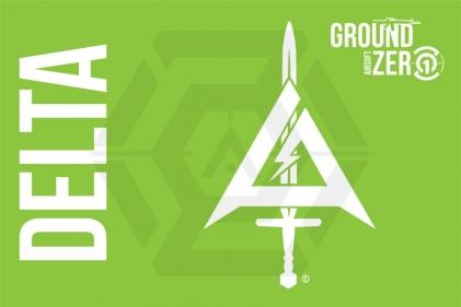 Ground Zero Flag 'Delta' - 100cm x 150cm © Copyright Zero One Airsoft