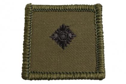 Helmet Rank Patch - 2/Lieutenant (Subdued)