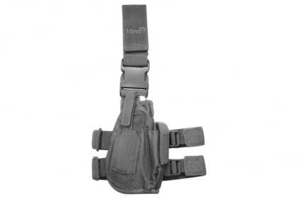 Viper Pistol Drop Leg Holster Titanium (Grey) © Copyright Zero One Airsoft
