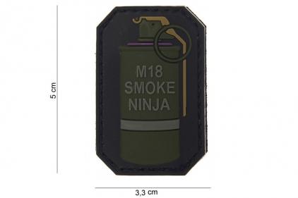 """VOS PVC Velcro Patch """"M18 Smoke Ninja"""""""