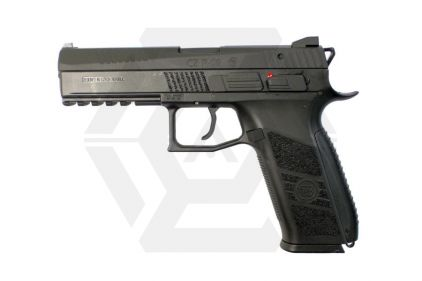ASG GBB CZ P-09 with Metal Slide & Carry Case (Black) © Copyright Zero One Airsoft