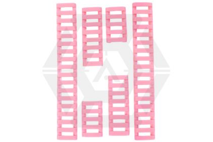 FMA Ladder Panel Set for 20mm Rail (Pink) © Copyright Zero One Airsoft