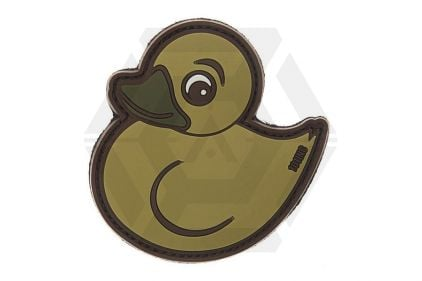 "101 Inc PVC Velcro Patch ""Rubber Duck"" (Tan) © Copyright Zero One Airsoft"