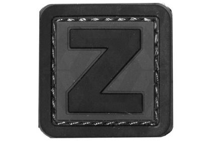 "VOS PVC Velcro Patch ""Z"""