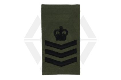 Rank Slide Pair (Olive) - S/Sgt