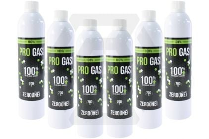 Zero One Pro Gas Pack of 6 (Bundle)