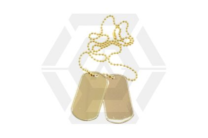 Viper Dog Tags (Gold) © Copyright Zero One Airsoft
