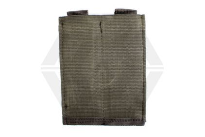 101 Inc MOLLE Elastic Double Pistol Mag Pouch (Olive) © Copyright Zero One Airsoft