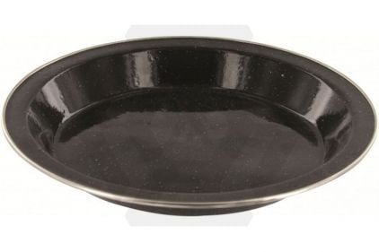 Highlander Deluxe Enamel Plate (Black) © Copyright Zero One Airsoft
