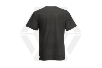 Daft Donkey T-Shirt 'Just Hit It' (Grey) - Size Small