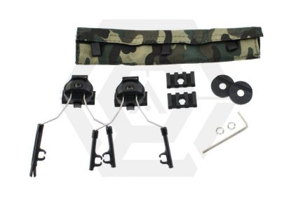Z-Tactical Helmet Rail Adapter Set (Black) | £24.95