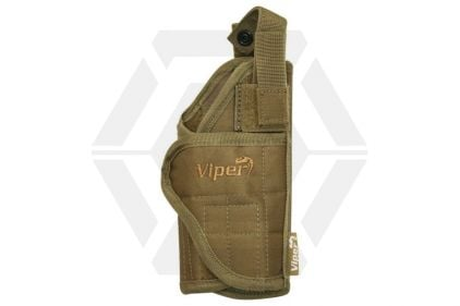Viper MOLLE Adjustable Holster (Coyote Tan) © Copyright Zero One Airsoft