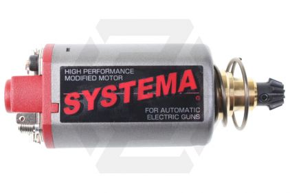 Systema High Speed Motor Medium Shaft