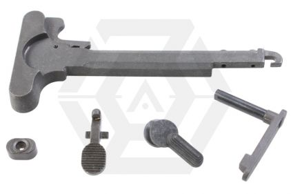 Systema Steel Accessory Set for M4 (Cocking Handle, Selector etc.) © Copyright Zero One Airsoft