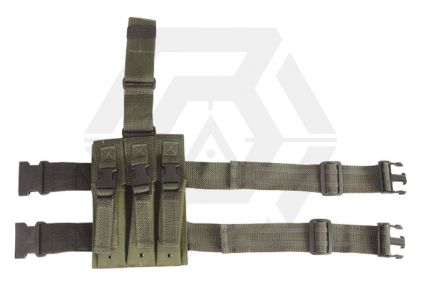 Viper PM5 Triple Magazine Drop Leg Holster (Olive)