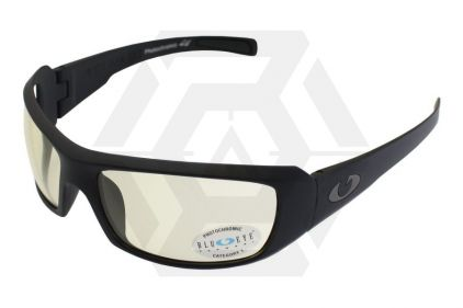 Blueye Tactical Sunglasses Tsunami with Black Frame & Photochromatic Lens