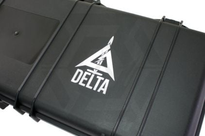 Zero One Airsoft Vinyl Decal 'Delta with Name'