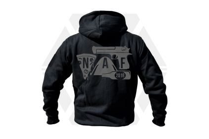 Daft Donkey Special Edition NAF 2018 'Airsoft Festival' Viper Zipped Hoodie (Black)
