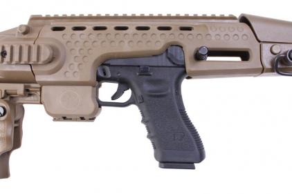 Zero One Custom GBB APS Glock Carbine (Tan) (Bundle)