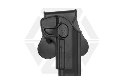 Amomax Rigid Polymer Holster for M9 (Black) © Copyright Zero One Airsoft