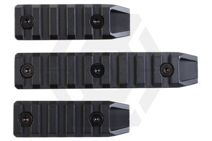 Echo1 Metal 20mm RIS Set for KeyMod Handguard (Black)